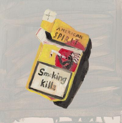 Sarah Osborne, 'Smoking Kills', 2016