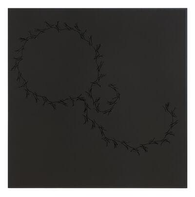Anri Sala, 'Lines on black (Höller, Tiravanija, Rehberger)', 2016