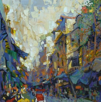 Duong Viet Nam, 'Hang Da Street 2', 2011