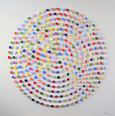 Peter Monaghan, 'Coloured Dowels', 2020