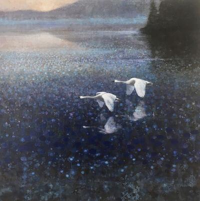 Ewoud De Groot, 'Trumpter Swans', 2018