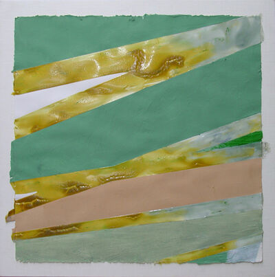 Jill Nathanson, 'Untitled (Aqua/Yellow Ochre)', 2008