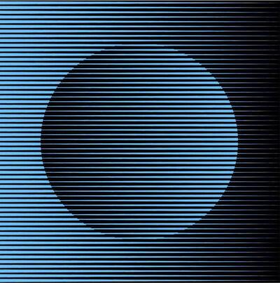 John Zoller, 'John Zoller, Blue Dusk Orb', 2021