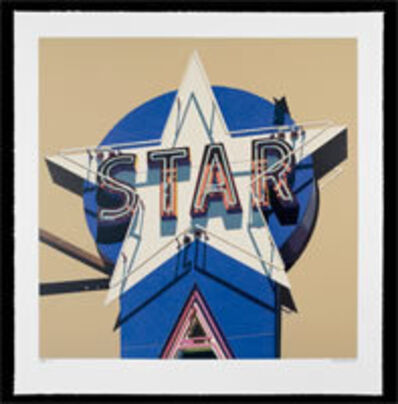 Robert Cottingham, 'Star', 2009