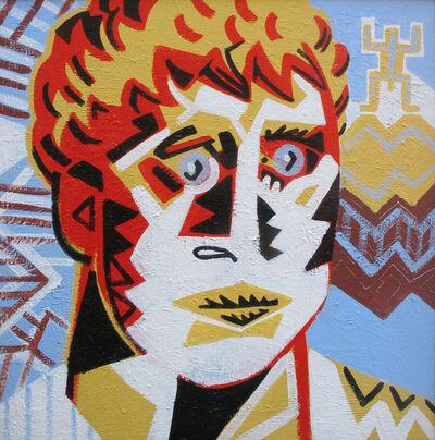 Alexandru Rădvan, 'Portrait with totem', 2017