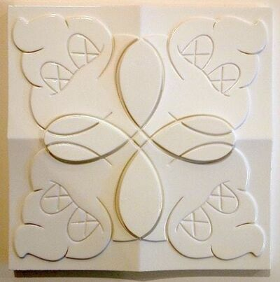 KAWS, 'OriginalFake Store Tile (White)', 2006