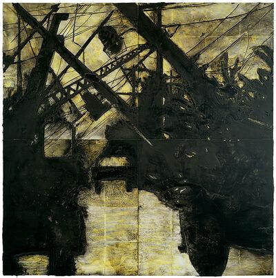 Donald Sultan, 'Lines Down, 11 November', 1985