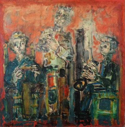 Paul Augustin Aizpiri, 'Les musiciens', 1961