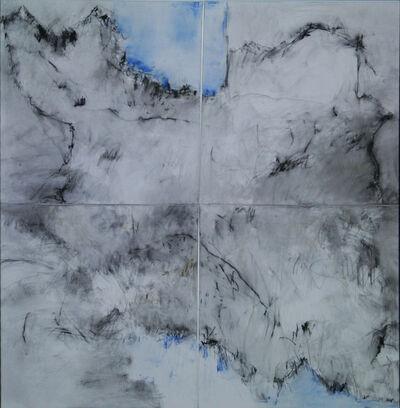 Farideh Lashai, 'Gone Down the Rabbit Hole, Panels 1-4', 2010-2012