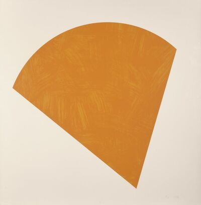 Ellsworth Kelly, 'Untitled (Orange)', 1988