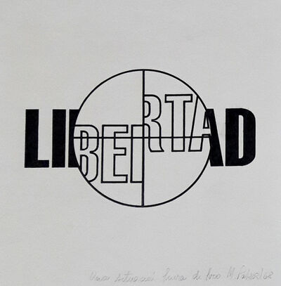 Margarita Paksa, 'Libertad (from the series Situaciones fuera de foco)', 1967