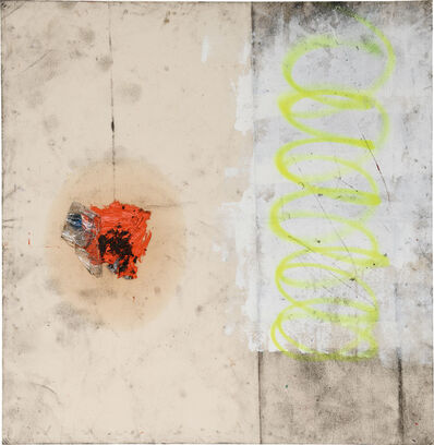 Oscar Murillo (b. 1986), 'Untitled (synthetic trash paintings)', 2011