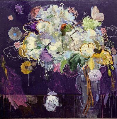 Carmelo Blandino, 'White on Violet', 2018