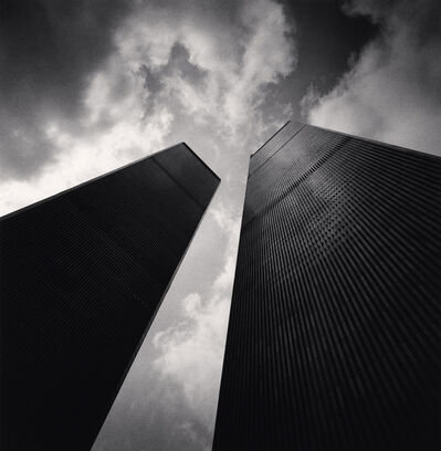 Michael Kenna, 'Twin Towers, Study 2, New York, New York, USA', 2000