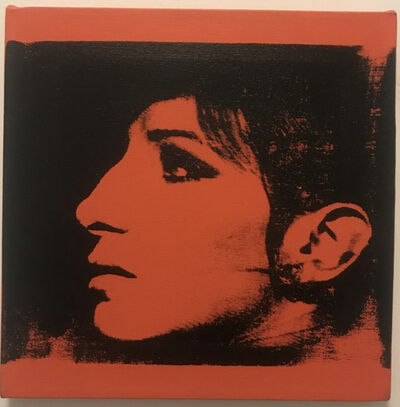 Deborah Kass, '1 Red Barbra (Jewish Jackie Series)', 1992