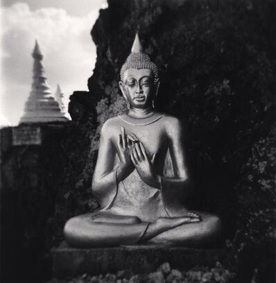 Michael Kenna, 'Mountaintop Buddha, Pindaya, Myanmar', 2019
