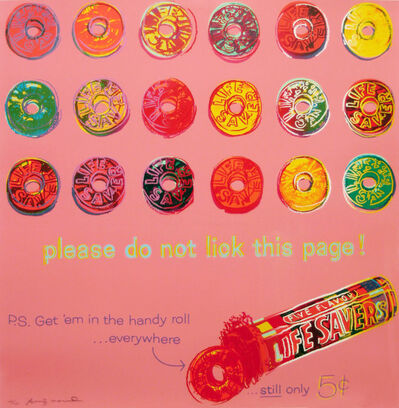 Andy Warhol, 'Life Savers (FS II.353)', 1985