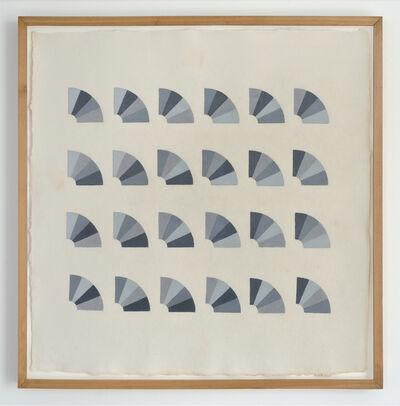 Elaine Reichek, 'Fan Factorial Drawing 2', 1977