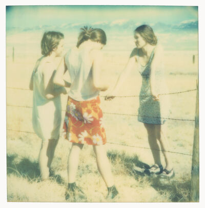 Stefanie Schneider, 'Three Girls II (Last Picture Show)', 2006