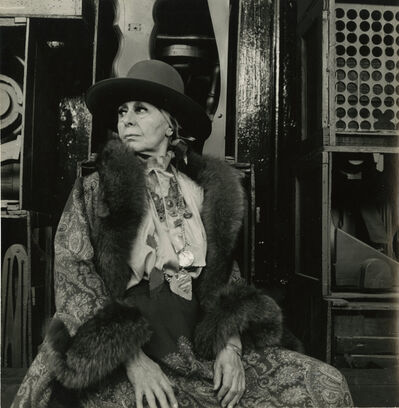 Cecil Beaton, 'Louise Nevelson', 1978