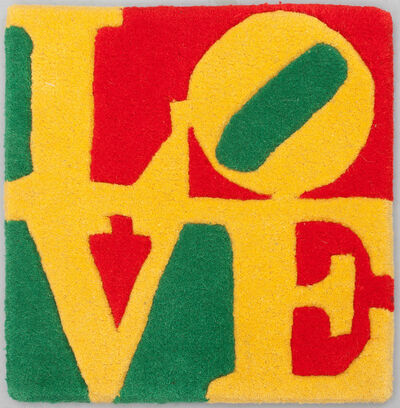 Robert Indiana, 'Summer LOVE rug', 2006
