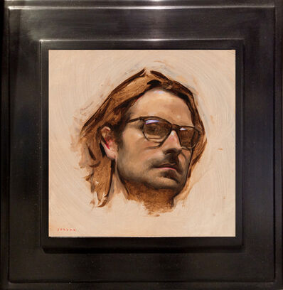 Jordan Sokol, 'Self Portrait with Glasses', 2017