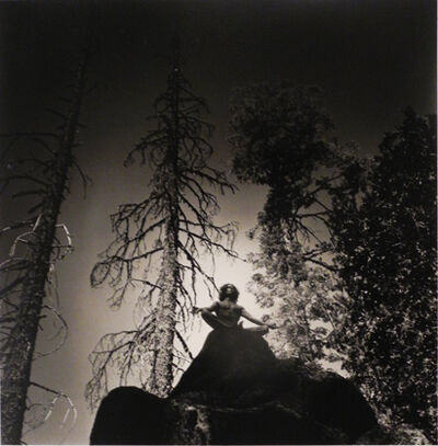 Eikoh Hosoe, 'Man on Rock Top', 1975