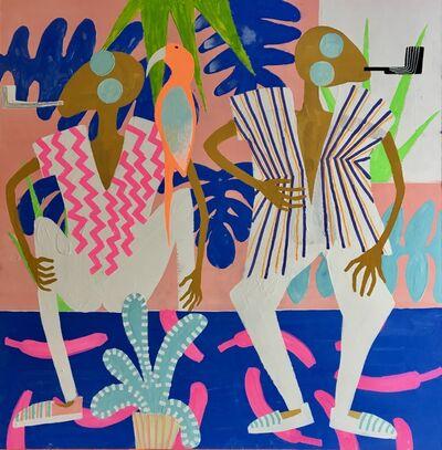 Frantisek Florian, 'African figures 21', 2018