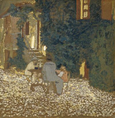 Édouard Vuillard, 'Repast in a Garden', 1898