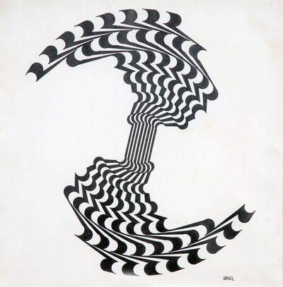 Ernesto Briel, 'Ruptura del círculo ', 1969