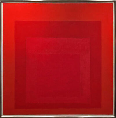 Josef Albers, 'Study for Homage to the Square', 1968