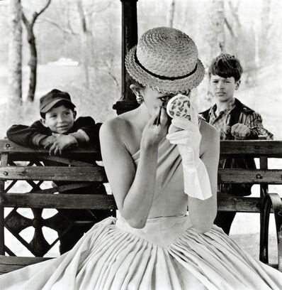 Frank Paulin, 'Makeup, Central Park', 1955