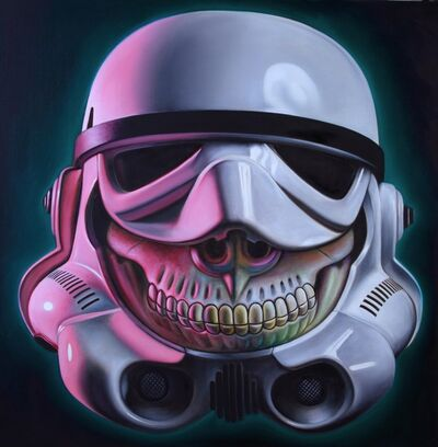Ron English, 'Stormtrooper Grin', 2015