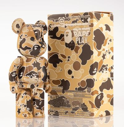 BE@RBRICK X BAPE, 'BAPE Play Camo 400% (Brown)', 2008