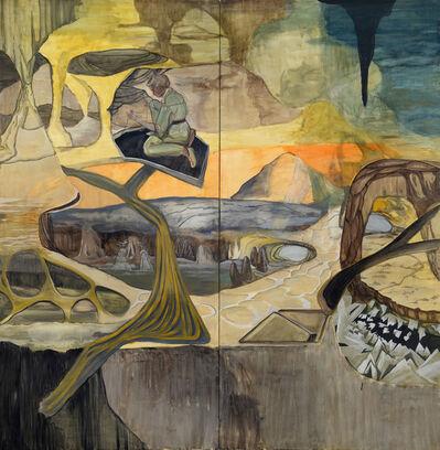 Rosa Loy, 'Zwei Wege', 2013