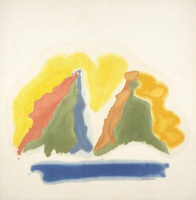 Helen Frankenthaler, 'Sun Dial', 1963