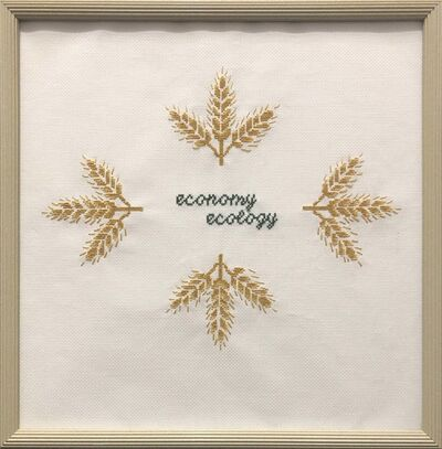 Kirsten Stolle, 'Economy over Ecology', 2014