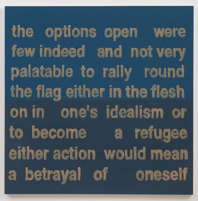 Daniel Joseph Martinez, 'The Options Open Were', 2013