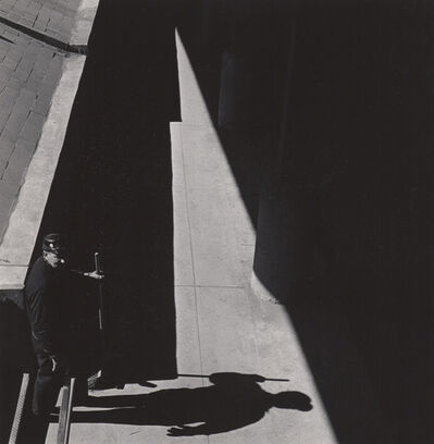 Ed Sievers, 'Untitled (man with broom)', c. 1960's