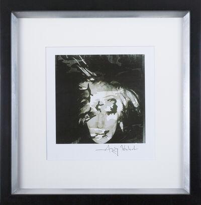 Andy Warhol, 'Self-portrait Camouflage', 1986