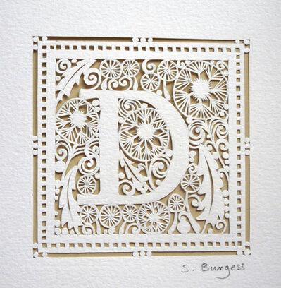 Sara Burgess, 'Alphabet D', 2014
