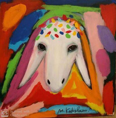 Menashe Kadishman, 'Sheep Head', 2010