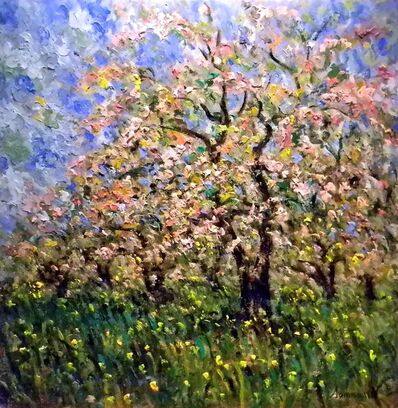 Samir Sammoun, 'Cherry Blossoms (Cerisiers Au Fleurs) ', 2010