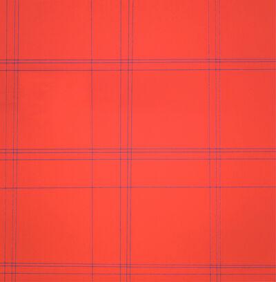 François Morellet, 'Two Patterns of Perpendicular Lines ', 1952-1983