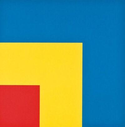 Ellsworth Kelly, 'Red, Yellow,Blue', 1999