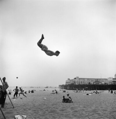 Loomis Dean, 'Fun at the Beach, Santa Monica, CA', 1948