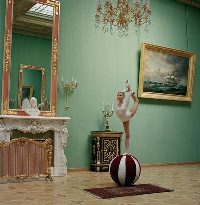 Valery Katsuba, 'Gymnast on the ball', 2008