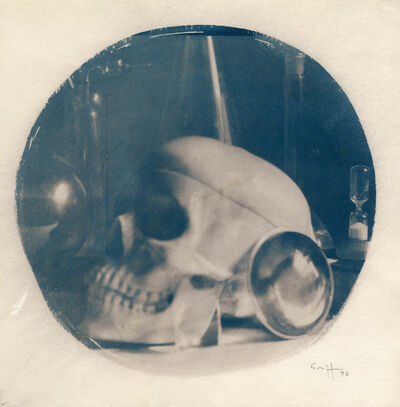 Stephane Graff, 'Skull in sphere', 1996