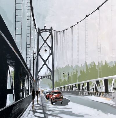 Marie-France Boisvert, 'On the Bridge', 2019