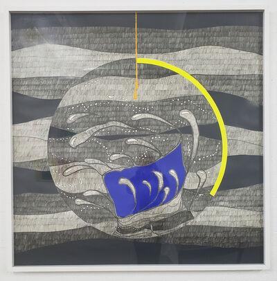 Gilberto Salvador, 'Roda azul', 2017